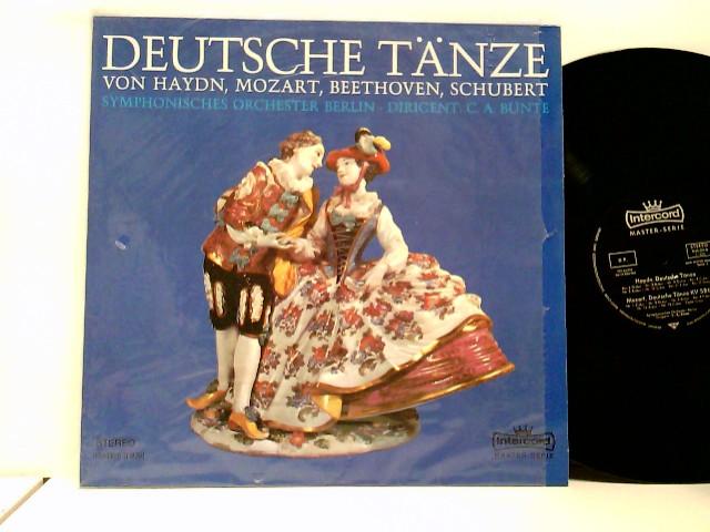 Deutsche Tänze von Haydn, Mozart, Beethoven, Schubert