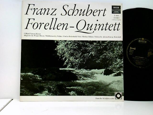 Schubert, Franz: Clifford Curzon Und Mitglieder Des Wiener Oktetts: Willi Boskovsky, Günther Breitenbach, Nikolaus Hübner, Johann Krump – Forellen-Quintett