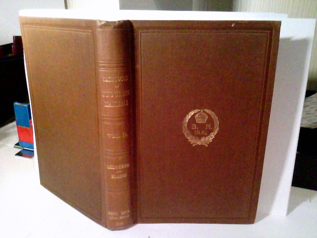 Catalogue of the Ungulate Mammals in the British Museum (Natural History). Vol II. Vol. II..