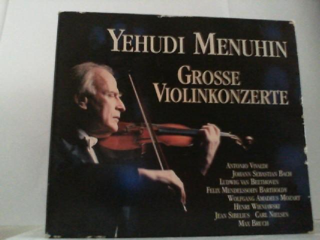 Bath Festival Orchestra- Polish Chamber Orchestra-  New Philharmonica Orchestra u. a.: YEHUDI MENUHIN