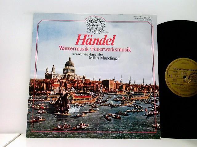 Ars Rediviva-Ensemble Prag*, Milan Munclinger – Wassermusik - Feuerwerksmusik