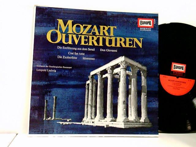 Leopold Ludwig, The Hamburg State Opera Orchestra* – Mozart Overtüren