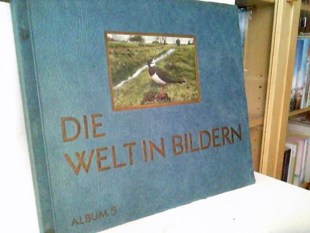 o. A.: Die Welt in Bildern, eine Sondersammlung deutscher Vögel in Bild und Wort Album 5 /  Serien 177 bis 214