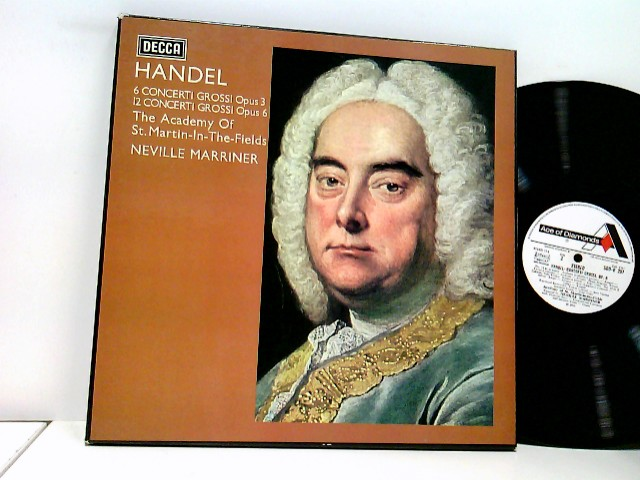 Academy Of St. Martin-in-the-Fields* directed by Neville Marriner* – Concerti Grossi Opus 3 And Opus 6