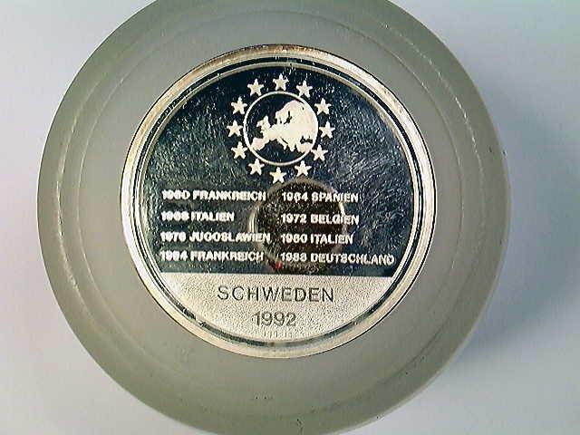 Medaille Schweden 92, Fußball-EM 1992, Silber 999