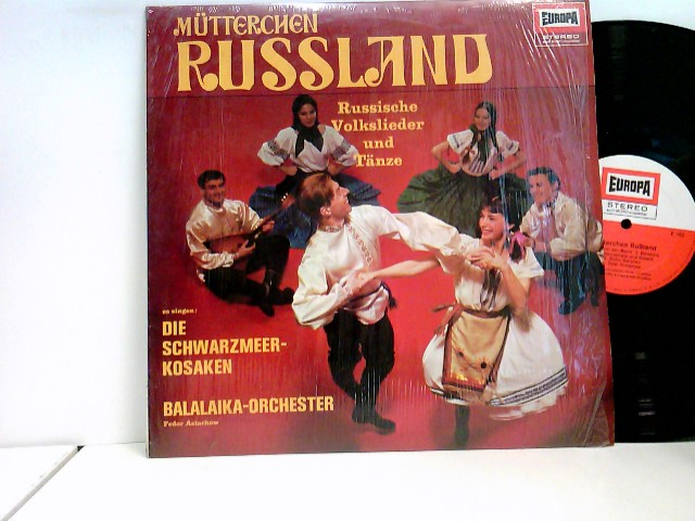 Boris Rubaschkin und das Balalaika-Ensemble: Moskauer Nächte