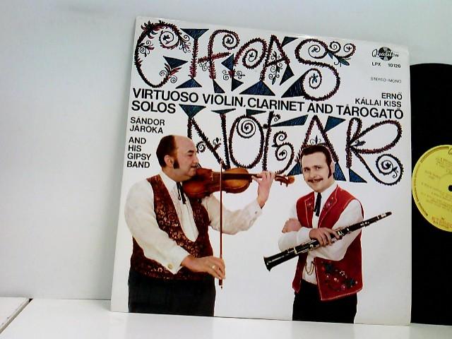Cifrás Nóták -Virtuoso Violin, Clarinet And Tárogató Solos