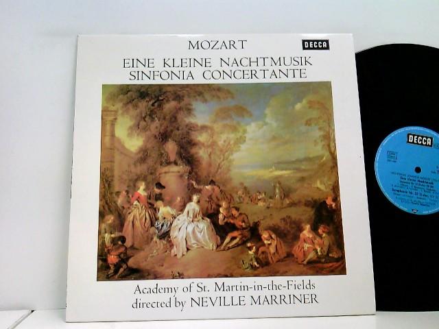 Academy Of St. Martin-in-the-Fields* Directed By Neville Mariner* – Eine Kleine Nachtmusik / Sinfonia Concertante