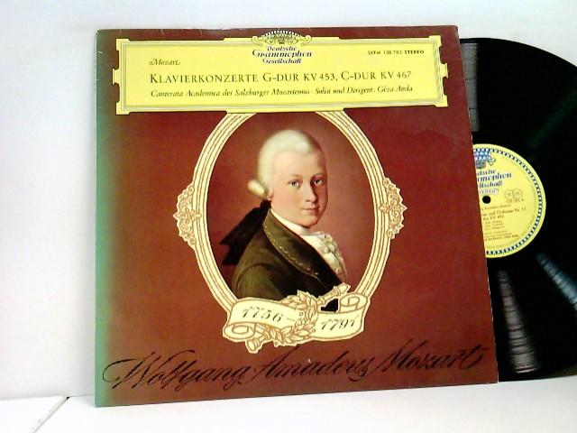 Camerata Academica Des Salzburger Mozarteums*, Géza Anda – Klavierkonzerte · Piano Concertos - G-Dur / In G Major / KV 453 · C-Dur / In C Major / KV 467