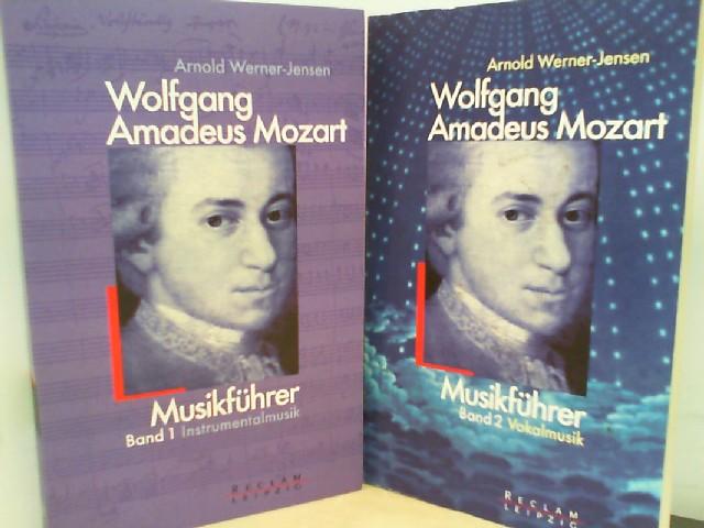 Wolfgang Amadeus Mozart Musikführer - Band 1 ( Instrumentalmusik ) und Band 2 ( Vokalmusik ) 1. Auflage