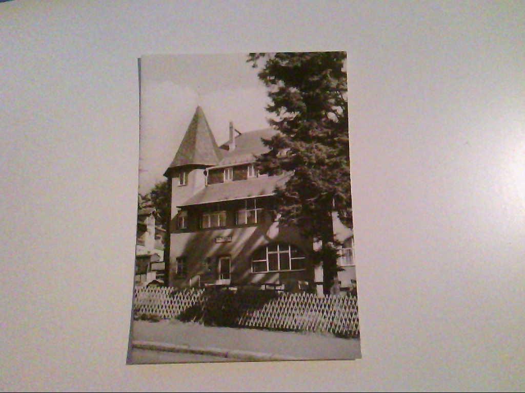 Augustusburg. Hotel Waldhaus. AK.