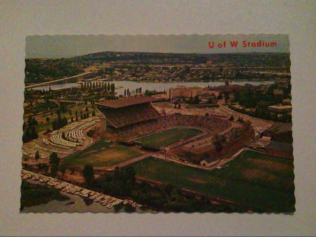 The University of Washington Stadium. USA. AK.