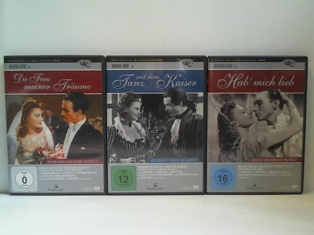 Konvolut Marika Rökk: 3 DVDs: Tanz mit dem Kaiser, Hab