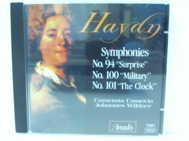 J., Haydn: Sinfonie Nr. 100, 101, 94