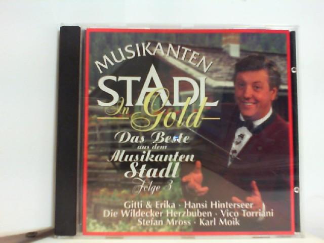 Musikantenstadl in Gold
