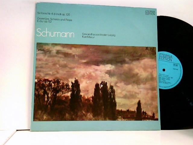 Gewandhausorchester Leipzig, Kurt Masur – Sinfonie Nr. 4 D-moll Op. 120 / Ouvertüre, Scherzo Und Finale E-dur Op. 52