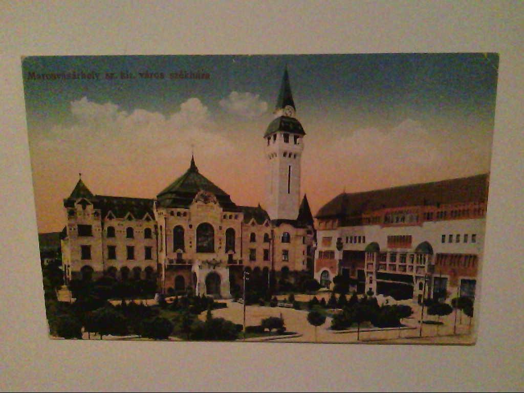 Marosvásárhely. Târgu Mures. Rumänien. Stempel Reservehospital in Kolozsvar VIII. Abt. Mensa Akademika. AK.