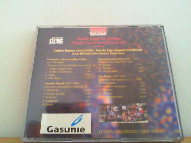 Haydn jeugd Strijkorkest: Colizzi/ Dvorak/ Bach/ Wiren