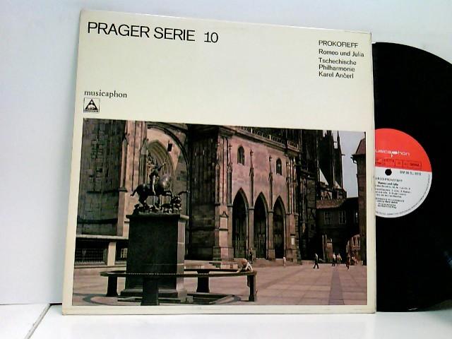Karel Ancerl, Tschechische Philharmonie* – Romeo Und Julia – Prager Serie 10