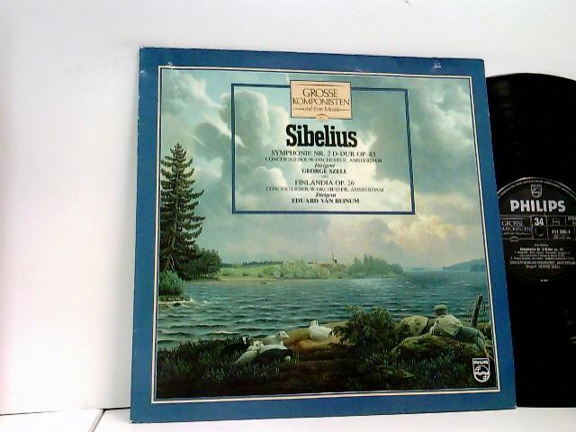 Sibelius* / Concertgebouw-Orchester, Amsterdam* / George Szell / Eduard Van Beinum – Symphonie Nr. 2 D-Dur Op. 43 Und Finlandia Op. 26 – Grosse Komponisten Und Ihre Musik – 34