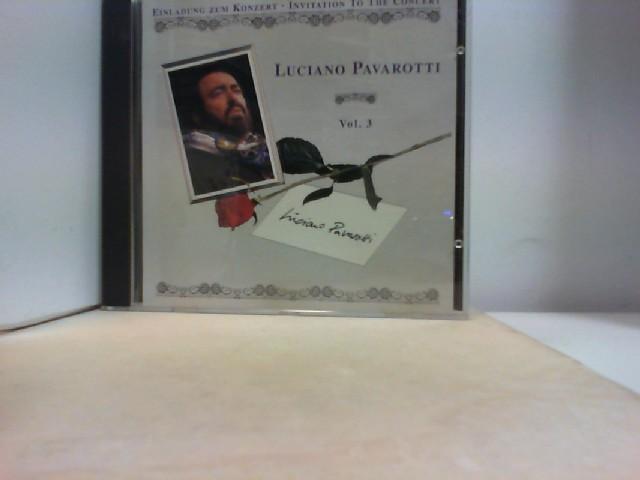 """Einladung zum Konzert """"  by LUCIANO PAVAROTTI """""""