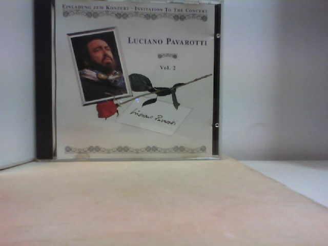 """Invitation to the Concert  """" by LUCIANO PAVAROTTI """" Volume 2"""