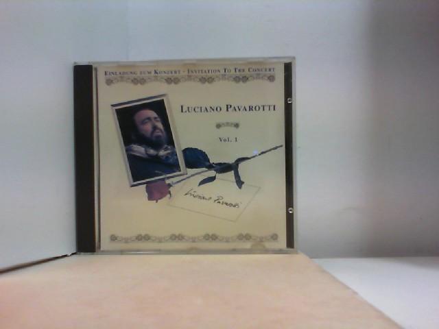"""EINLADUNG ZUM KONZERT  by """" LUCIANO PAVAROTTI """" Volume 1"""