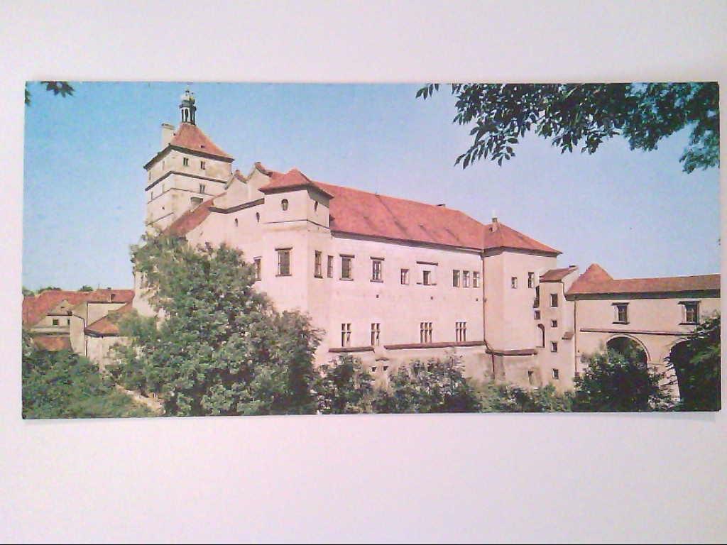 Pardubice. Tschechien. Schloss. AK.