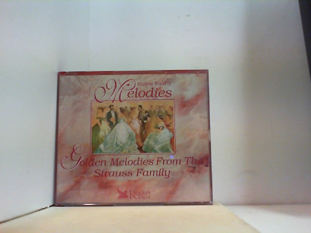 GOLDEN MELODIES FROM THE STRAUSS FAMILY ( 3 CD Box )