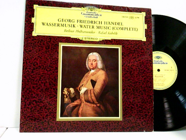 Rafael Kubelik / Berliner Philharmoniker – Wassermusik - Water Music (Complete)