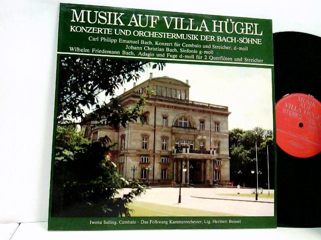 Musik Auf Villa Hügel - Konzerte Und Orchestermusik Der Bach-Söhne
