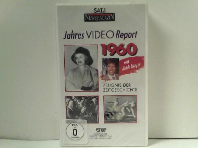 JAHRES VIDEO REPORT 1960 - Zeugnis der Zeitgeschichte - Deutsche Wochenschau