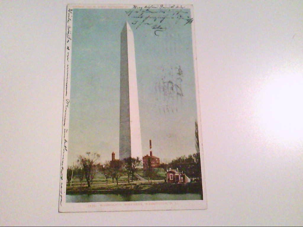 Washington Monument. Washington D. C. AK.