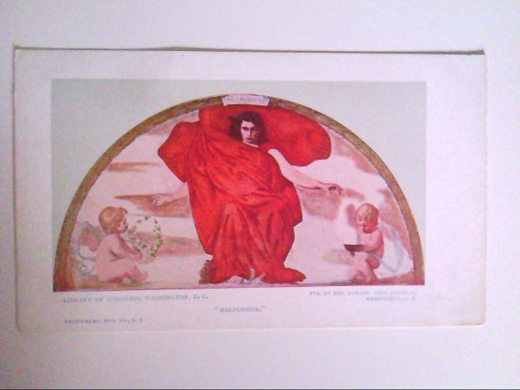 """ Melpomene "". Library of Congress. Washington D. C. AK."