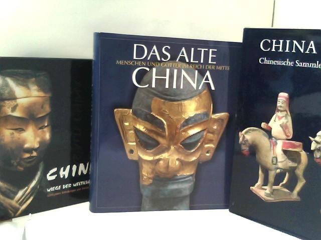 """Konvolut bestehend aus 7 Bänden zum Thema """"China / Japan""""."""