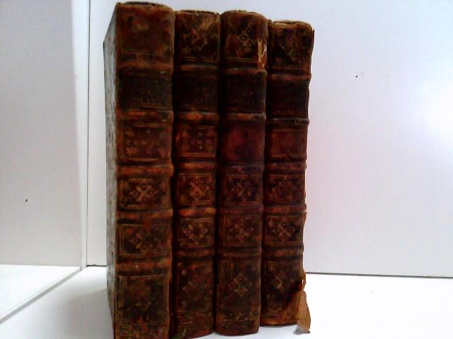 Konvolut bestehend aus 4 Bänden zum Thema Moliere. Oeuvres de Moliere. Nouvelle edition. Vol: 1 bis Vol IV.