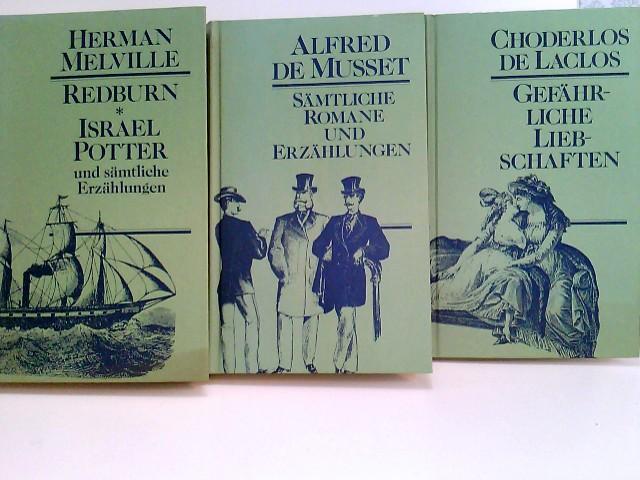 Konvolut bestehend aus 3 Bänden zum Thema: Erzählungen und Romane verlegt vom Drei Lilien Verlag, Wiesbaden Sonderausgaben