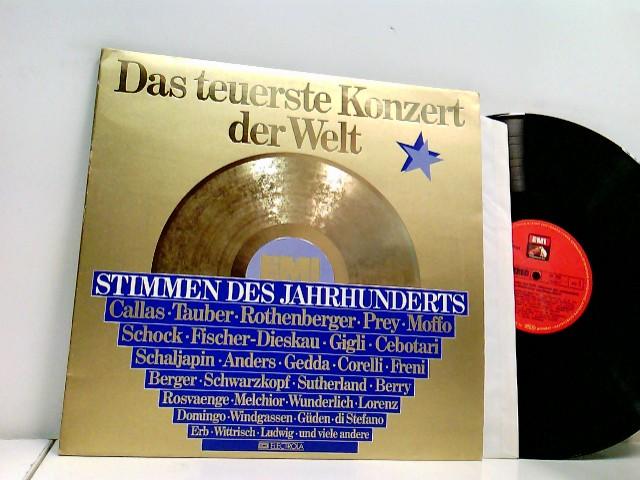 Various – Das Teuerste Konzert Der Welt - Stimmen Des Jahrhunderts