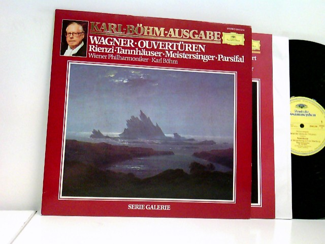 Wiener Philharmoniker, Karl Böhm – Wagner, Ouvertüren, Rienzi, Tannhäuser, Meistersinger, Parsifal