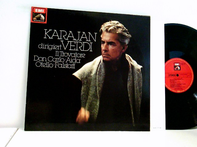Karajan* dirigiert Verdi* – Il Trovatore - Don Carlo - Aida - Otello - Falstaff