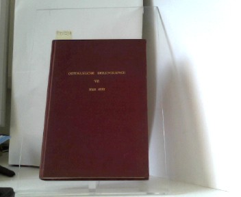 Ostdeutsche Bibliographie, Band VII 1968-1971 - Marizan, Herbert