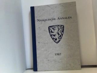 Nassauische Annalen 1987. Band 98. Jubiläumsband zum 175 jähr.Bestehen des Vereins.