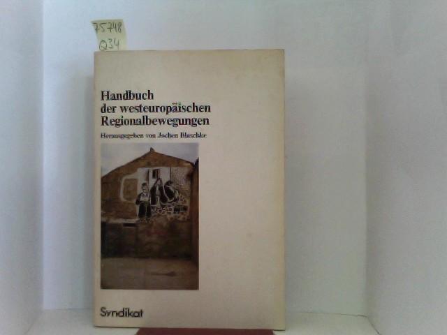 Handbuch der europäischen Regionalbewegungen