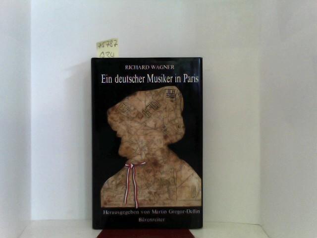 Ein deutscher Musiker in Paris. Novellen und Aufsätze ( 1840 und 1841)