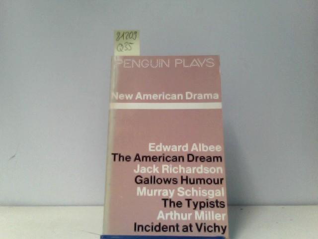 New American Drama Untertitel: introduction by Charles Marowitz