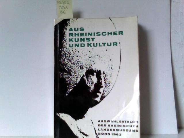 Aus rheinischer Kunst und Kultur : Auswahlkatalog d. Rheinischen Landesmuseums Bonn Kunst und Altertum am Rhein , Nr. 9