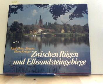 *Zwischen Rügen und Elbsandsteingebirge. Text . Bildteil Karl-Heinz Jürgens