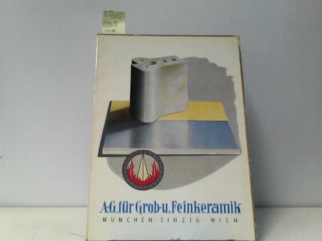 A.G. für Grob-u. Feinkeramik, Glasierte Spaltwandplatten