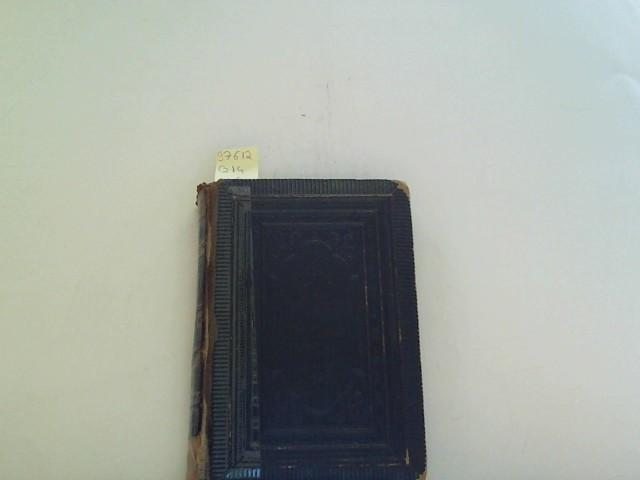 Evangelisches Gesangbuch, Ausgabe mit vierstimmigem Notensatz ohne den ahnhang