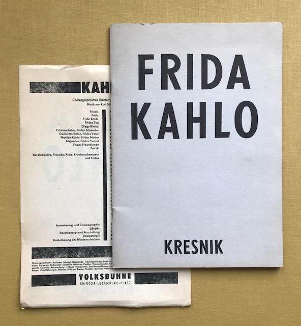 Frida Kahlo. Kresnik.